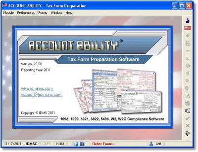 Account Ability Tax Form Preparation 28.00 screenshot