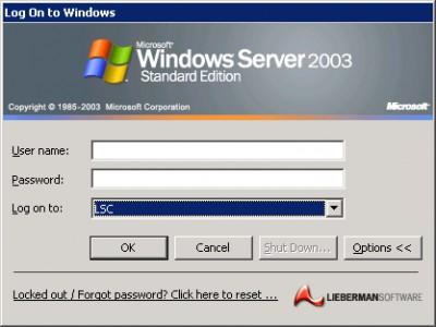Account Reset Console 4.05.07041 screenshot