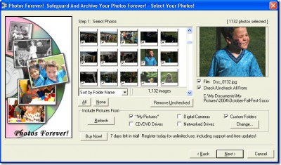 Acoustica Photos Forever 1.0_b15 screenshot