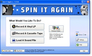 Acoustica Spin It Again 2.5_b42 screenshot