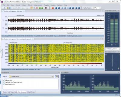 Acoustica Standard Edition 5.0 screenshot