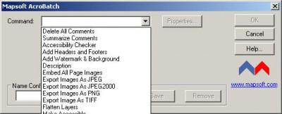 AcroBatch 1.5 screenshot