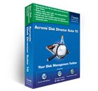 Acronis Disk Director Suite 10.0 with 08 10.03 screenshot