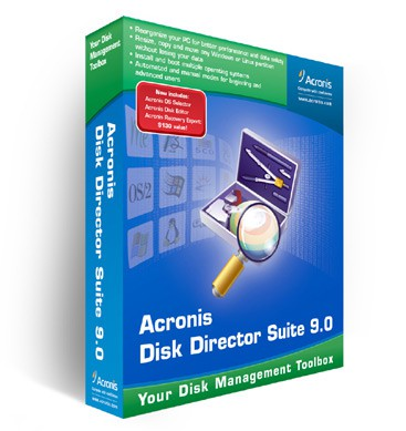 Acronis Partition Expert 2005 screenshot