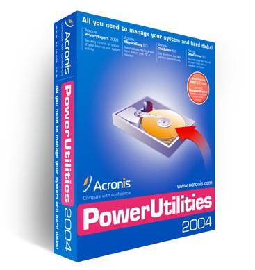 Acronis Power Utilities 2004 screenshot