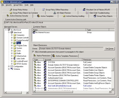 Active Administrator (tm) 4.04 screenshot