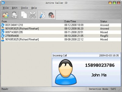 Active Caller ID 4.0.1 screenshot