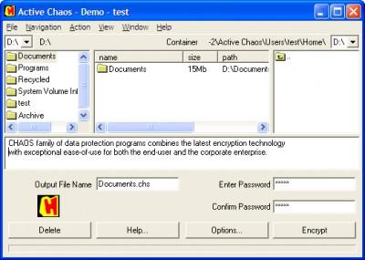 Active CHAOS 5.0 screenshot