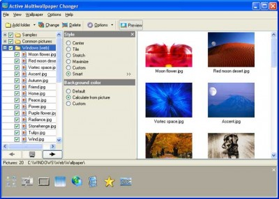 Active Multiwallpaper Changer 3.73 screenshot