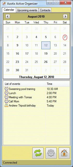 Active Organizer 2.3.1 screenshot