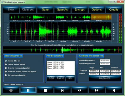 Active Sound Recorder 9.0 screenshot