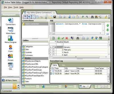 Active Table Editor 5.3.4.5 screenshot