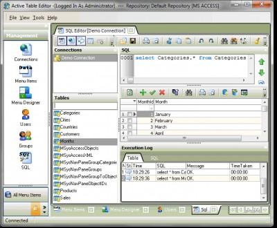 Active Table Editor 5.3.4.5 screenshot