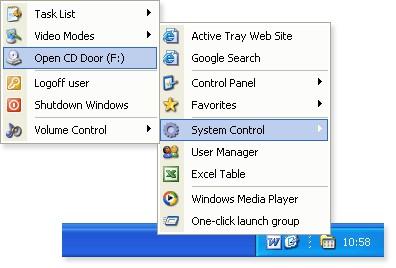 Active Tray 2.2.1 screenshot