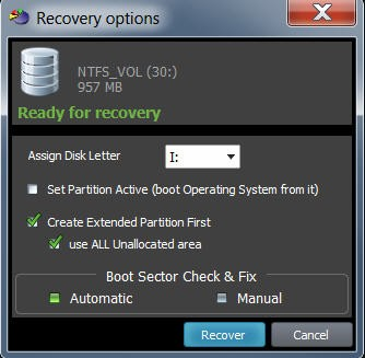 Active@ Partition Recovery 21.0.1.1 screenshot