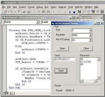 ActiveComport Serial Port Toolkit 2.0 screenshot