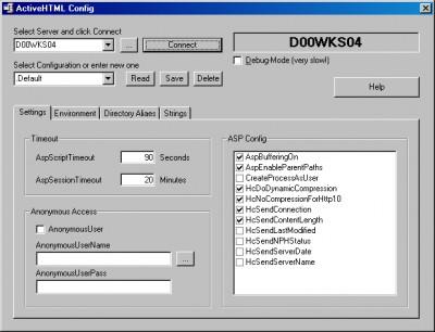 ActiveHTML 1.05.0008 screenshot