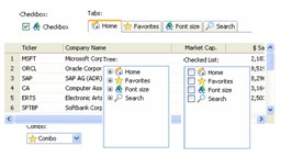 ActiveWidgets Grid (Free Edition) 1.0.0 screenshot