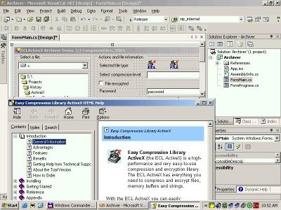 ActiveX Easy Compression Library 1.00 screenshot