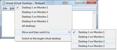 Actual Virtual Desktops 8.2.2 screenshot