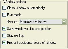 Actual Window Guard 8.11 screenshot
