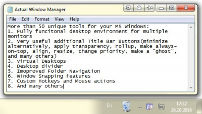Actual Window Manager 8.12.2 screenshot