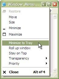 Actual Window Menu 8.14.4 screenshot