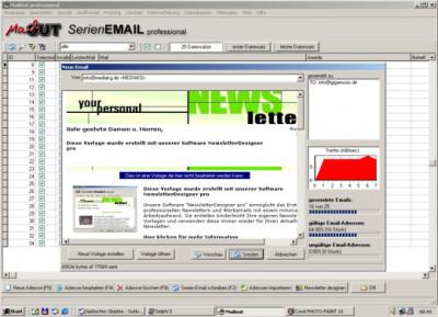 ACX MailOut pro 11.3.7 screenshot