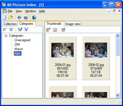 AD Picture Index 2.2 screenshot