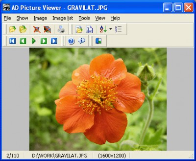 AD Picture Viewer 3.9.1 screenshot