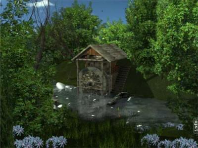 AD Water Mill - Animated Desktop Wallpaper 3.1 screenshot