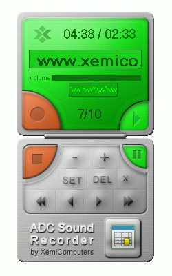 ADC Sound Recorder 3.4 screenshot
