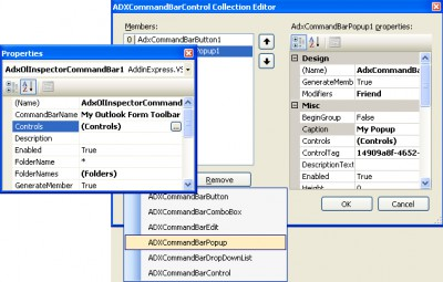 Add-in Express 2007 for VSTO 2008.4.0 screenshot