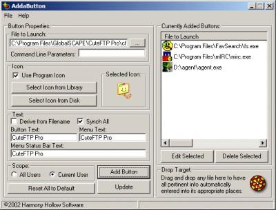 AddaButton 4.1 screenshot