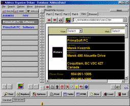 Address Organizer Deluxe 4.12 screenshot