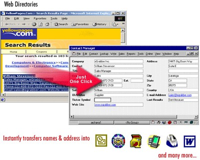 AddressGrabber Standard 4.0 screenshot
