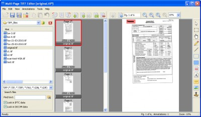 ADEO Multi-Page TIFF Editor 2.9.11.791 screenshot