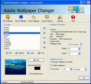 Adolix Wallpaper Changer 2.2 screenshot