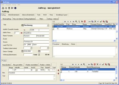 Adressverwaltung 1 screenshot
