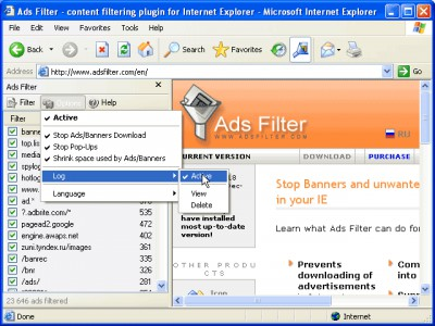 Ads Filter 1.2.77 screenshot