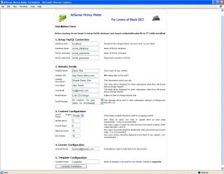 AdSense Money Maker 4.0 screenshot