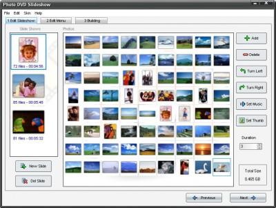 Adusoft Photo DVD Slideshow 6.63 screenshot