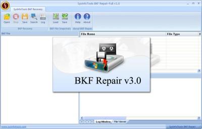 Advance BKF Recovery Tool 3.0 screenshot