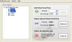 Advanced COM Port Redirector 4.0 screenshot