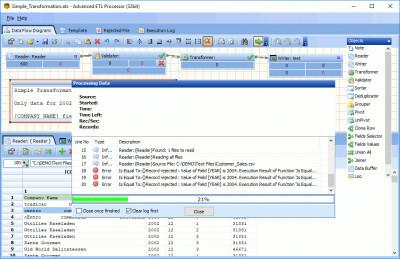 Advanced ETL Processor 32 Bit 3.9.6.4 screenshot