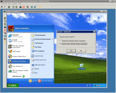 Advanced Net Monitor for Classroom Professional 2.4.2 screenshot