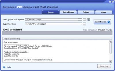 Advanced PDF Repair 2.0