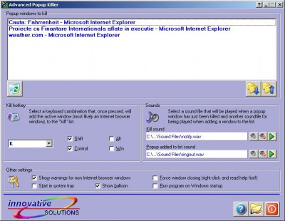 Advanced Popup Killer 4.0 screenshot