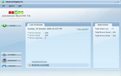 Advanced Registry Fix 4.0 screenshot