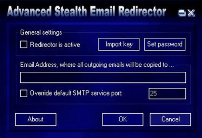 Advanced Stealth Email Redirector 6.5.2 screenshot